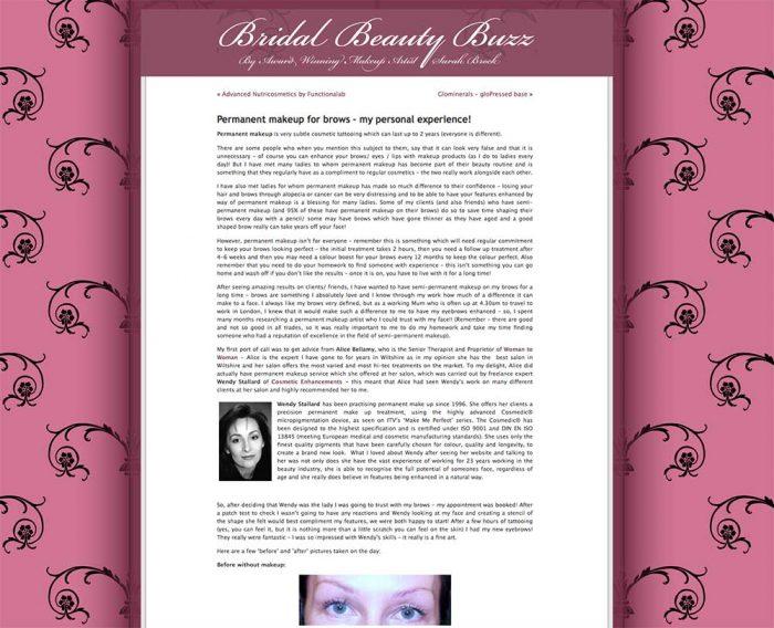 Bridal Beauty Buzz